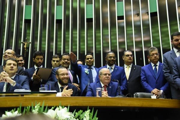 Deputados do PRB tomam posse e reforçam compromisso com o país