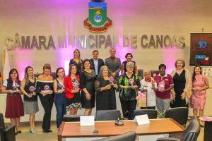 """PRB promove 5ª edição da homenagem """"Dez Mulheres 10 de Canoas"""""""