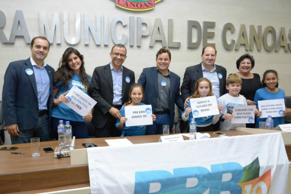 PRB Canoas empossa novas coordenadorias em 1º seminário do partido no município
