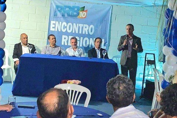 PRB reúne lideranças durante inauguração de nova sede em Igarapé (MG)