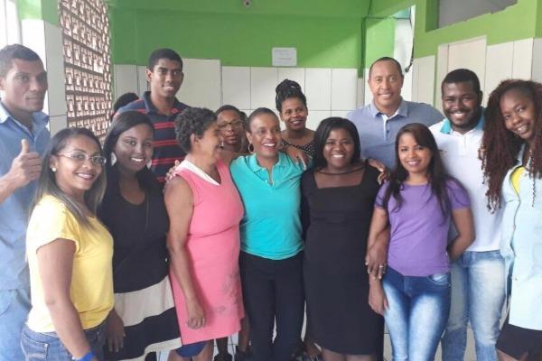 PRB Juventude Bahia realiza ação social em lar de idosos de Salvador