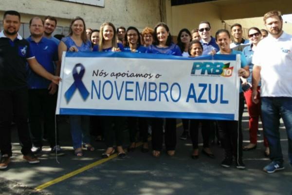 PRB Mulher de Valinhos promove ação pelo Novembro Azul