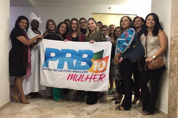 PRB Mulher DF realiza encontro para definir estratégias de trabalho