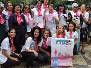Caminhada em Vitória demonstra força do PRB Mulher