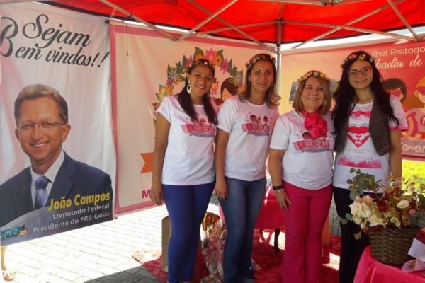 PRB Mulher Goiás promove ações para celebrar o mês das mães