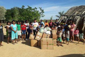 PRB Mulher de Paulínia realiza ação social em aldeia do Mato Grosso do Sul