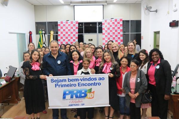 PRB Mulher promove encontro em Amparo (SP)