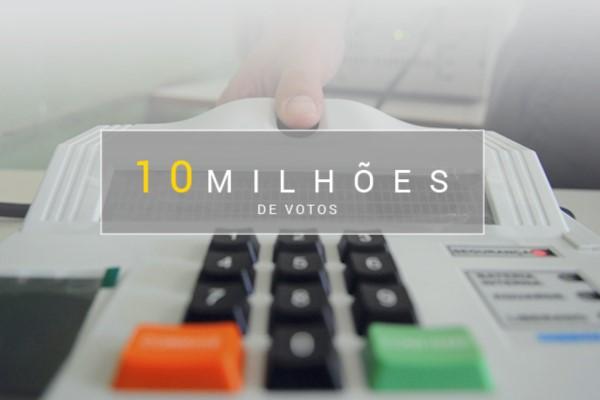 Vitória nas urnas: 10 milhões de eleitores apostam no PRB em todo o Brasil