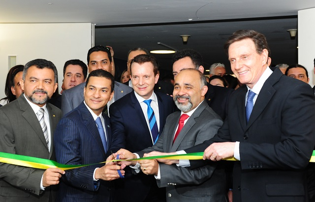 O lançamento da exposição foi feita pelo presidente nacional, o advogado Marcos Pereira, o líder do PRB, Celso Russomanno, o ministro do Esporte, George Hilton e o Senador Marcelo Crivella.