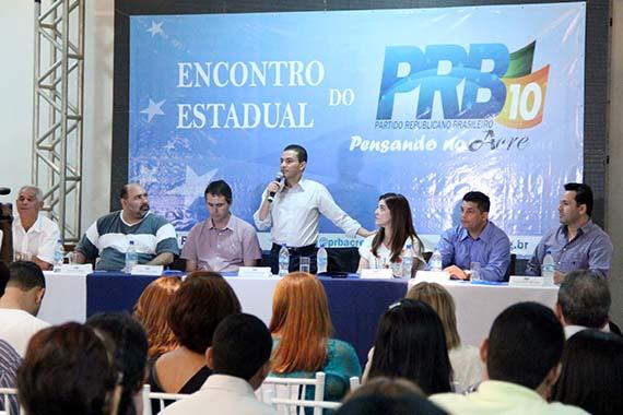 """Líder do PRB, Pereira conclama militantes a """"vestir a camisa 10″"""