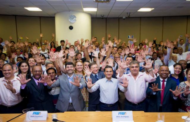 Presidente Municipal e líderes do PRB se reúnem com 200 representantes da capital paulista