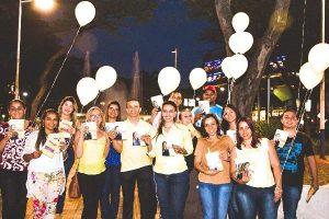 Priscila Sampaio realiza ações de combate ao suicídio em Taboão da Serra (SP)