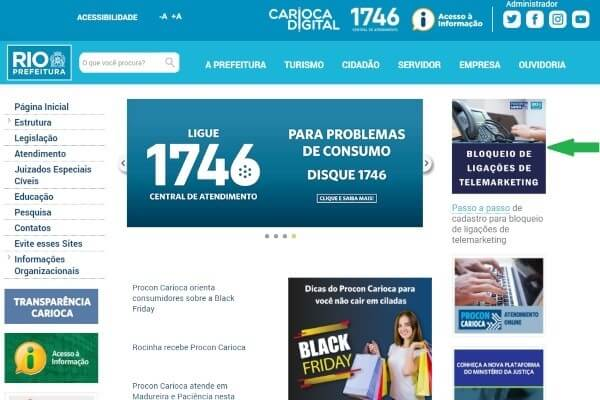 Procon Carioca inaugura sistema para bloqueio de ligações de telemarketing