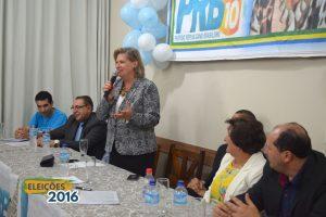 Carlos Gomes anuncia professora Luli como pré-candidata à Prefeitura de Carazinho