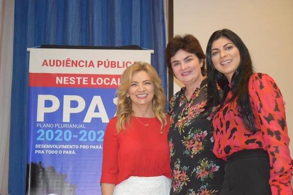 Professora Nilse participa da agenda itinerante na região Oeste do Pará