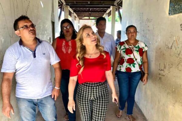 Professora Nilse Pinheiro defende estruturação de escolas no Pará