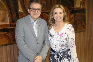 Professora Nilse se reúne com secretário da Receita Federal em Brasília