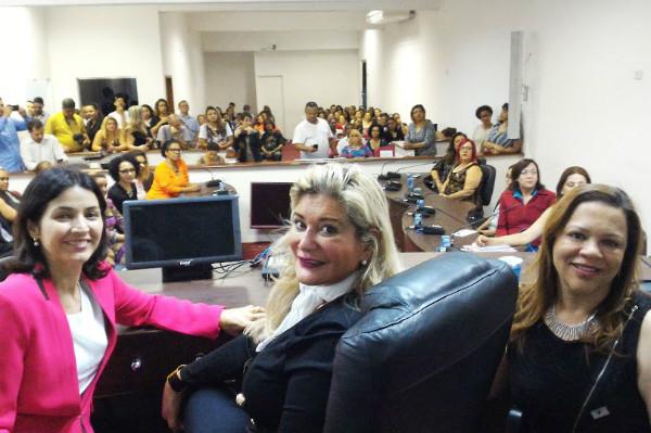 Professora Sônia participa de evento organizado pela Libra de Carapicuíba (SP)