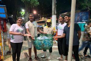 Quem Ama Cuida realiza ação de conscientização ambiental em Belém