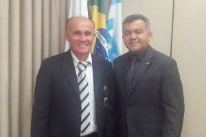 Em Brasília, prefeito Raimundinho busca recursos para Lajeado Novo (MA)