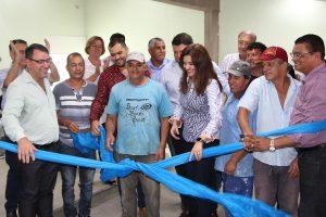Renata Sene inaugura duas importantes obras em menos de três meses de mandato