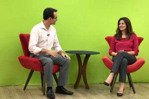 Renata Sene participa de programa de TV e fala sobre participação feminina na política