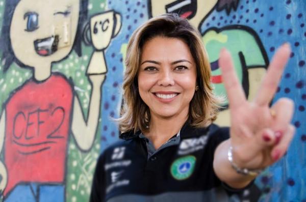 Republicana Leila Barros assume Secretaria de Esporte no DF