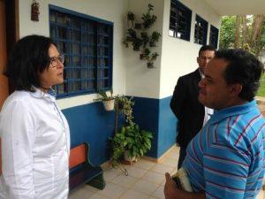 Republicano Vicemar Medeiros conhece estrutura do Instituto Nair Valadares