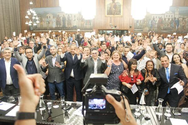 Posse de presidentes zonais reúne mais de 300 pessoas em São Paulo