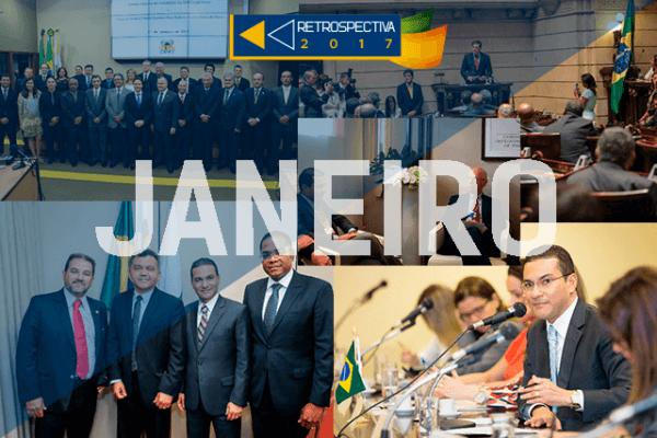 Posses, Marcos Pereira em Davos e eleição de novo líder na Câmara foram destaques