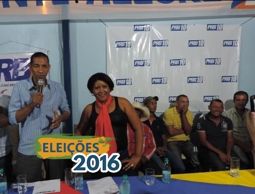 Ricardo Quirino empossa nova executiva do PRB Monte Alegre