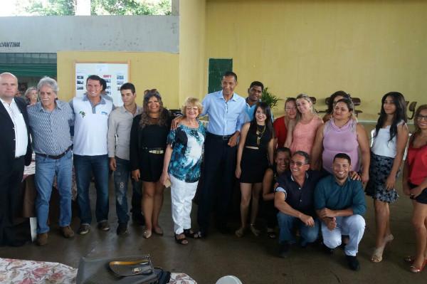 Ricardo Quirino participa de encerramento do curso de cuidador de idosos em Goiânia