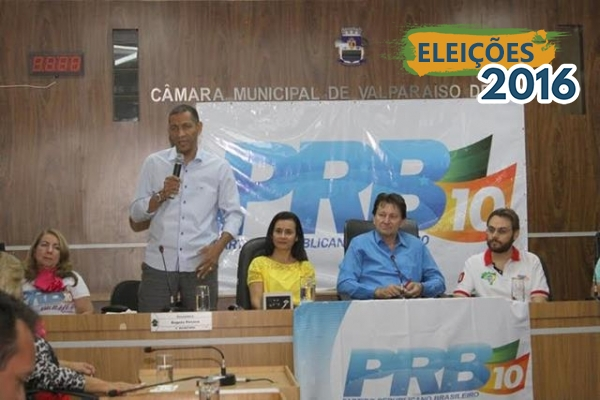 Ricardo Quirino apresenta projeto político do PRB para lideranças de Valparaíso