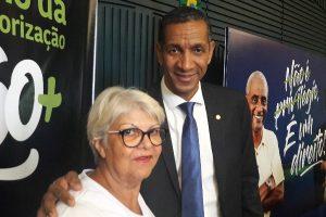 Ricardo Quirino participa de lançamento do Ano de Valorização da pessoa Idosa