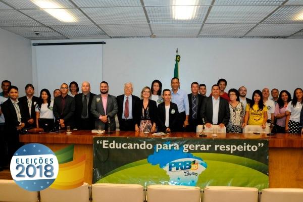 """""""A educação e o voto não envelhecem"""" foi tema de debate do PRB Idoso em Brasília"""