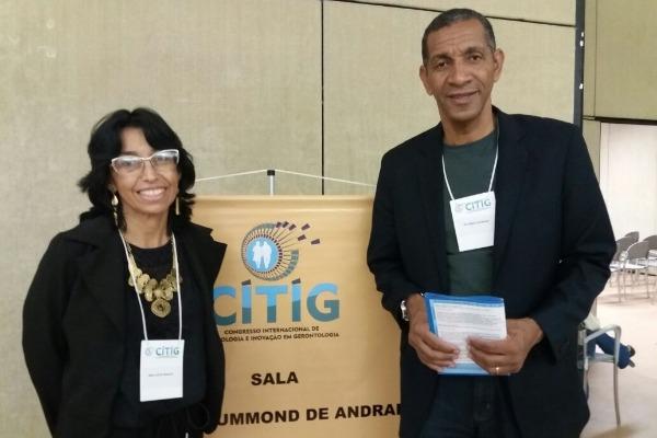 Ricardo Quirino participa de congresso internacional sobre inovação em gerontologia