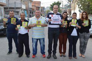 Vereador Ricardo Silva promove ação de combate à dengue em Osasco (SP)
