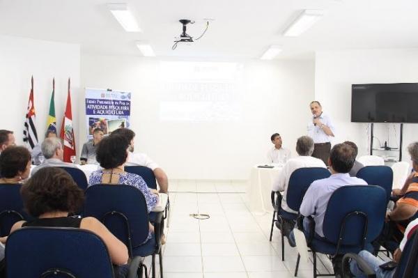 Roberto Alvesparticipa do lançamento da Frente Parlamentar da Pesca e Aquicultura em SP