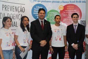 Roberto Sales apoia mobilização pelo Dia Mundial do Rim