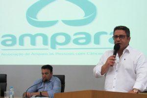 Robson Magela pede que prefeitura ajude associação de amparo às pessoas com câncer