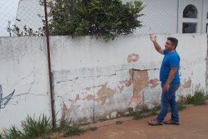 Robson Magela pede reforma urgente em escola infantil de Araxá (MG)