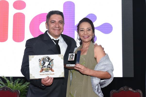 Robson Magela é homenageado em Araxá