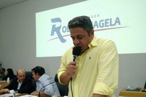 Robson Magela cobra coleta de lixo e revitalização de avenida em Araxá (MG)