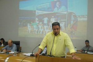 Robson Magela apresenta reivindicações do Gabinete Itinerante em Araxá