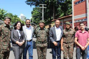 Republicanos participam de solenidade do Exército Brasileiro em Salvador