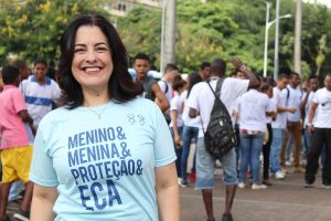 """""""Proteção da criança e do adolescente é nossa prioridade"""", afirma Rogéria Santos"""