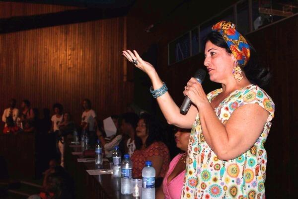 Rogéria Santos participa da 4ª edição do evento Musa Negra