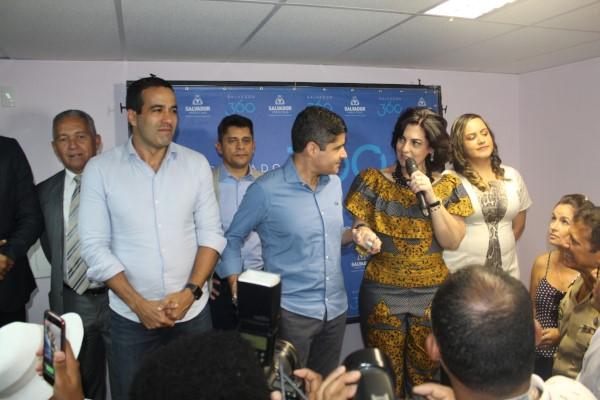 Rogéria Santos inaugura nova sede da SPMJ