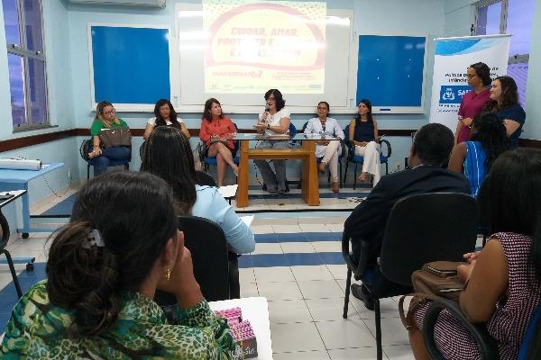 Matermaio leva serviços para gestantes no Hospital Sagrada Família em Salvador
