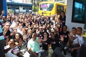 Campanha vai combater importunação de mulheres no transporte público